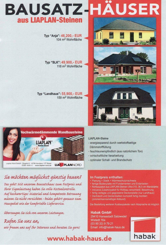 Bausatzhaus bauen
