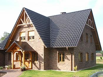 Super 1 1/2-geschossiges Haus bauen. Einfamilienhaus 1 1/2 geschossig bauen. OK83