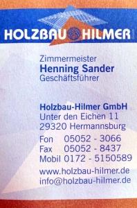 Holzbau Hilmer
