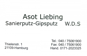 Liebing Sanierputz-Gipsputz