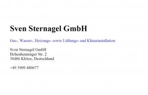 Sven Sternagel GmbH
